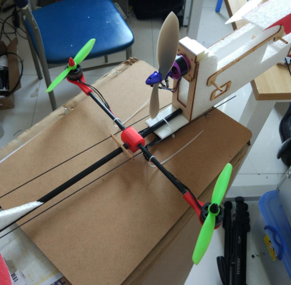 VTOLSeparate-Lift-Thrust独立升力、推力架构的垂直起降试验机
